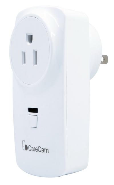 Ổ cắm điện kết nối không dây với camera CareCam