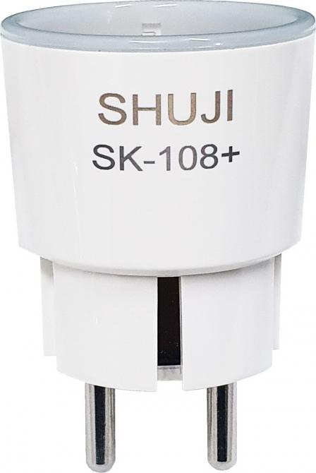 Ổ cắm điện thông minh Wifi SHUJI SK-108Plus (Đo được lượng điện tiêu thụ)
