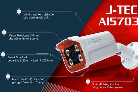 Giới thiệu chức năng và thông số Camera IP J-Tech AI5703C
