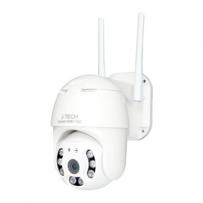 Camera Wifi IP J-Tech HD6715C (3MP, Xoay, Smart light)