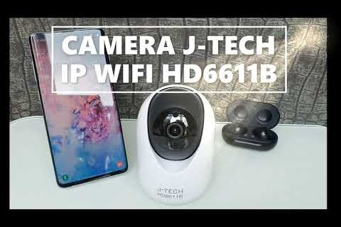 Camera IP Wifi Xoay J-Tech HD6611B