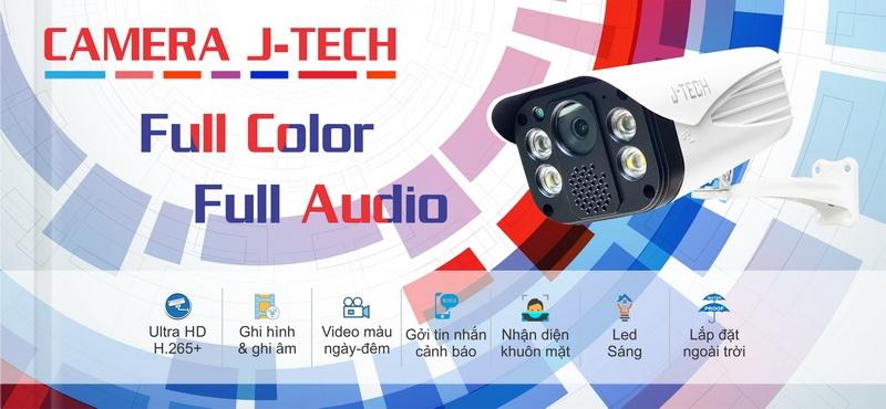 Camera Full Color J-TECH